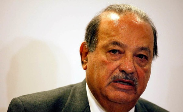 1. Carlos Slim Helu, 69 Milliarden Dollar, Telekommunikation, Mexiko