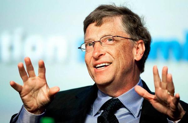 2. Bill Gates, 61 Milliarden Dollar, Microsoft (Software), USA