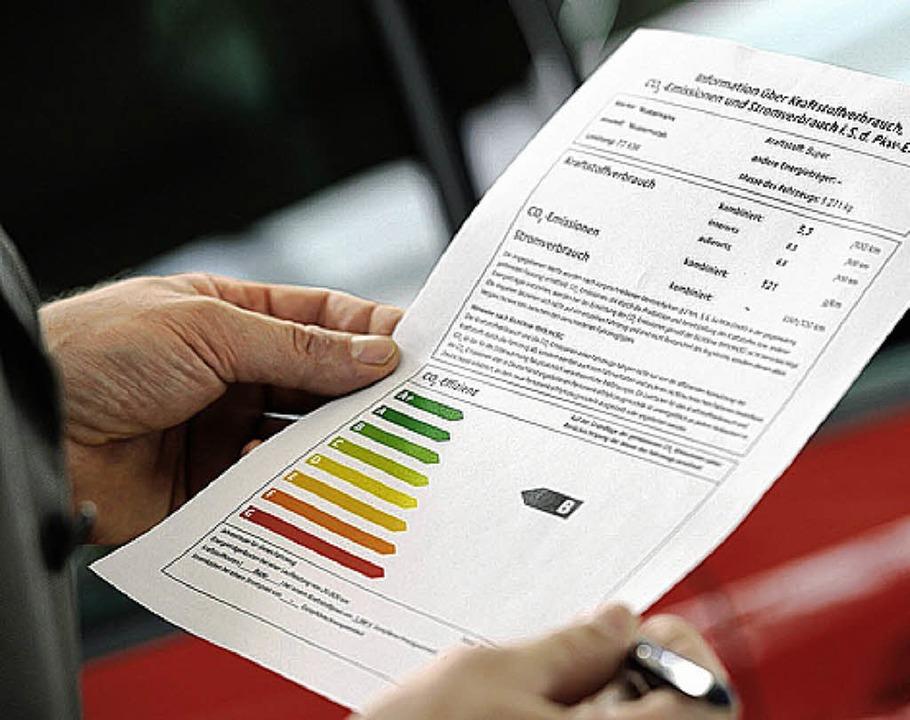 Verbrauchslabel als Entscheidungshilfe   | Foto: dena