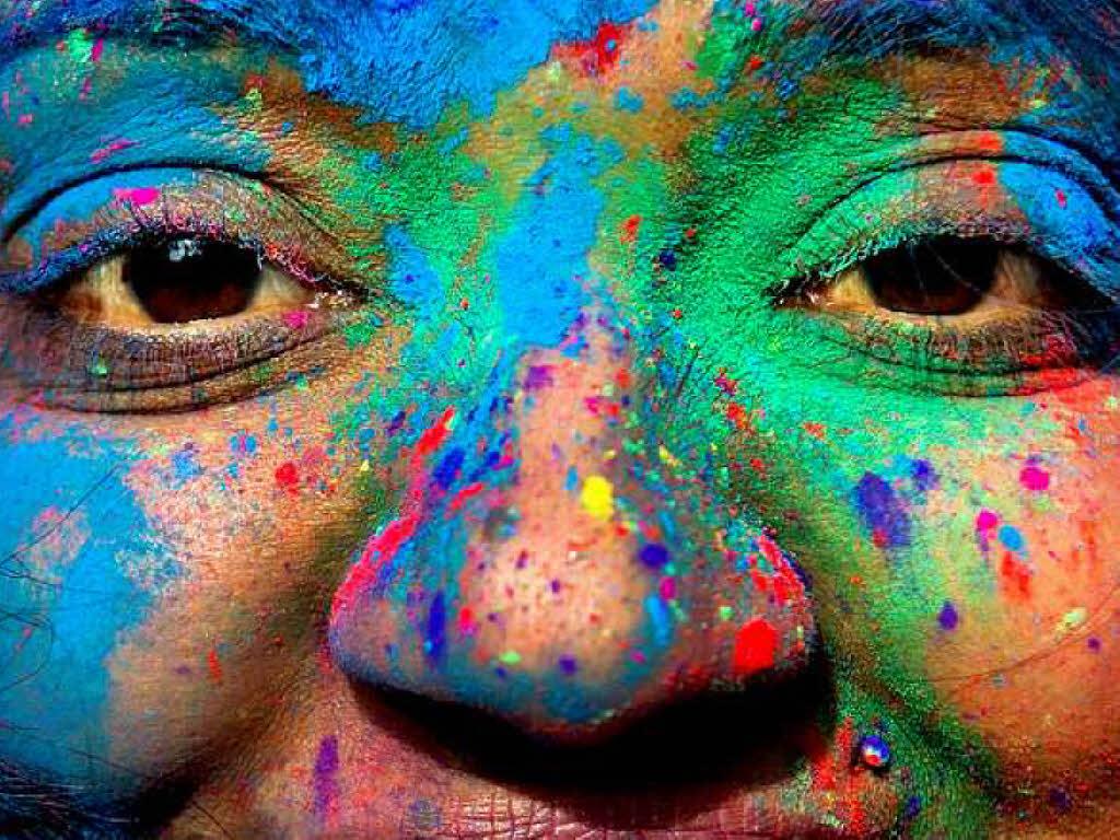 Zeit eines Lebens: Farbenfest Indien Lily Allen