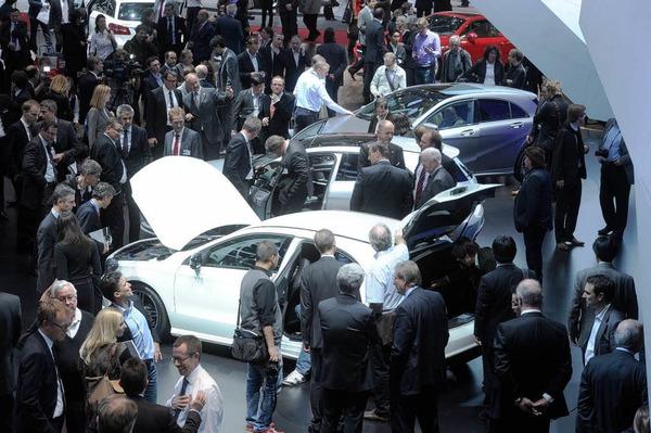 Beim 82. Internationalen Automobilsalon in Genf werden rund 180 Welt- und Europapremieren vom 8. bis zum 18 M�rz gezeigt.