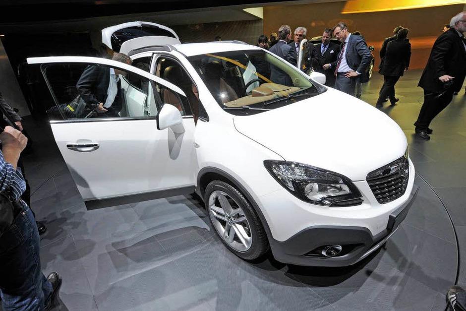 Der neue Opel Mokka. (Foto: dpa)