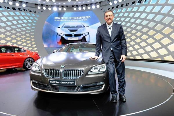 Der BMW 6er Grand Coup� wir pr�sentiert  von Norbert Reithofer, Vorstandsvorsitzender von BWM.