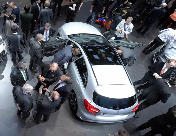 Die neue Mercedes-Benz A-Klasse.