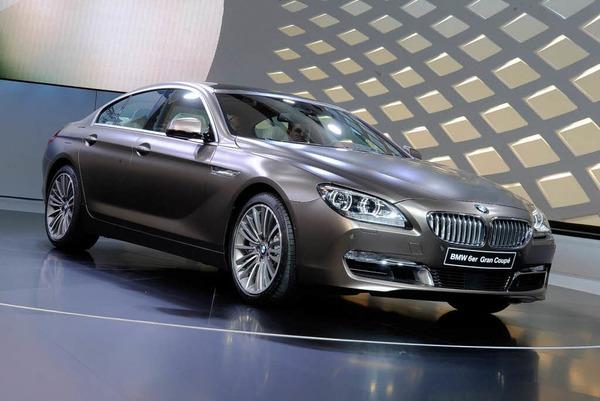Der BMW 6er Grand Coupé.