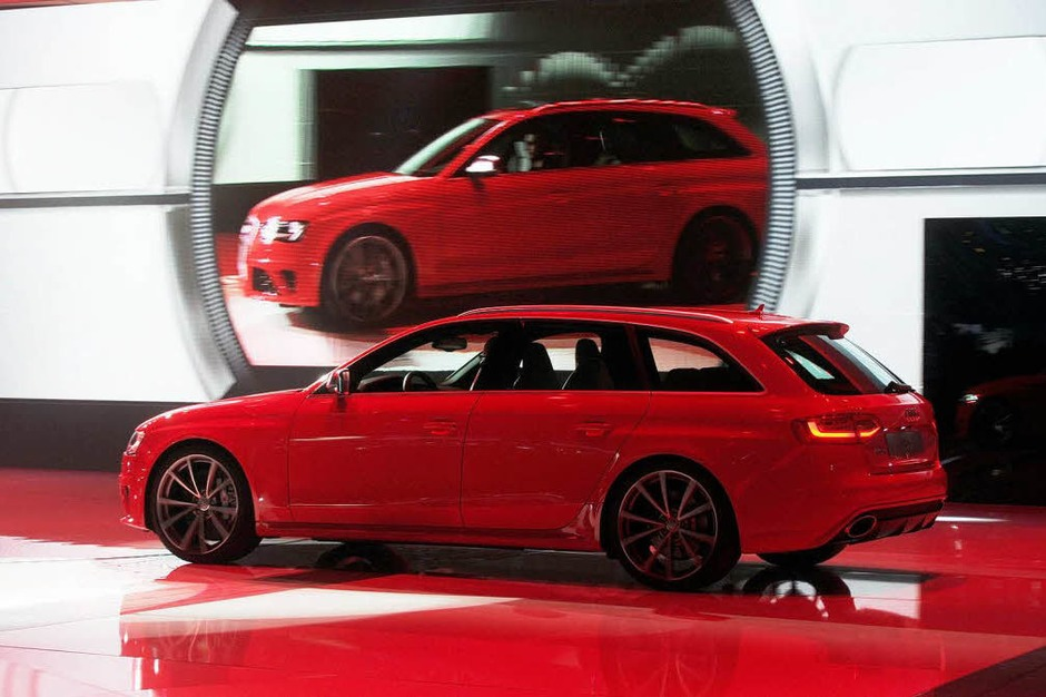 Der neue Audi A4 RS Avant (Foto: dpa)