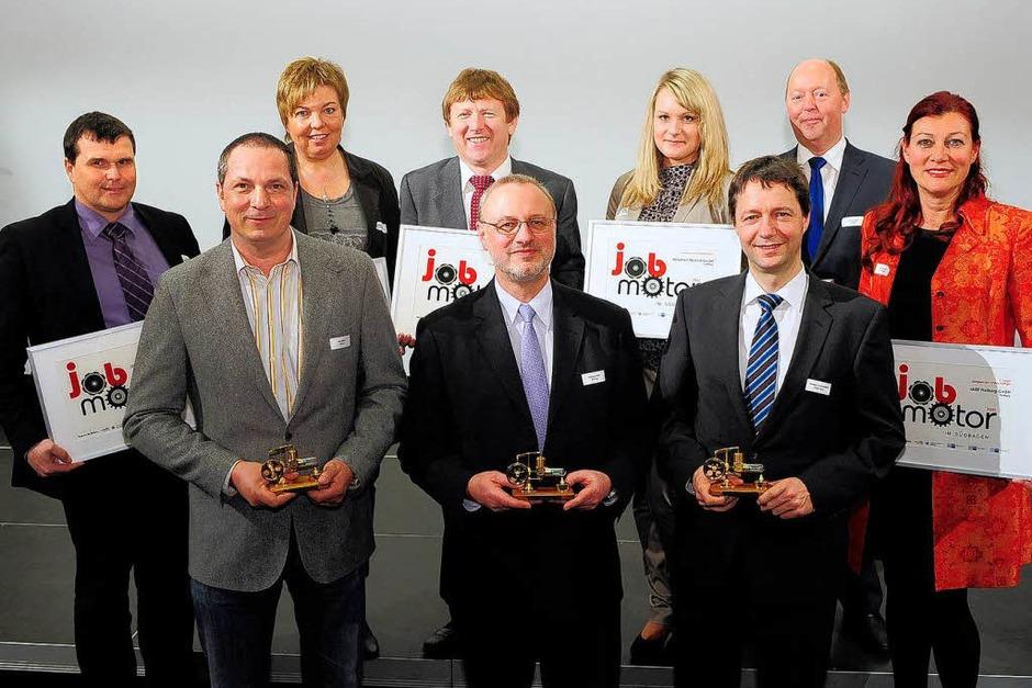 Jobmotor 2011 – die Gewinner des Wettbewerbs (Foto: Thomas Kunz)
