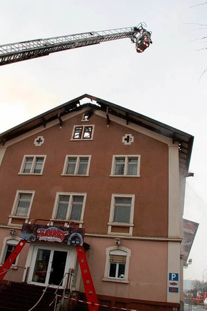 Trotz raschen und beherzten Handels der Feuerwehren konnte das Haus in Brennet nicht gerettet werden.