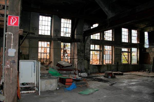 10. November 2011: Der einstige Maschinenraum in der alten Ziegelei in Bleibach