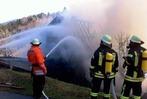 Fotos: Feuer zerst�rt Bauernhof in Oberried-Hofsgrund