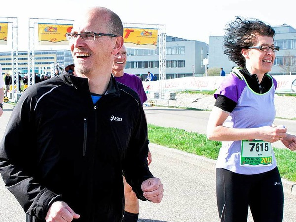 Der Freiburg Marathon - ein Fest f�r L�ufer