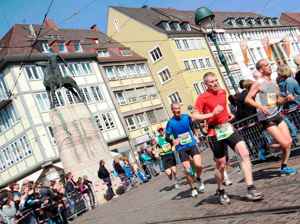 Der Freiburg Marathon - ein Fest fr Lufer