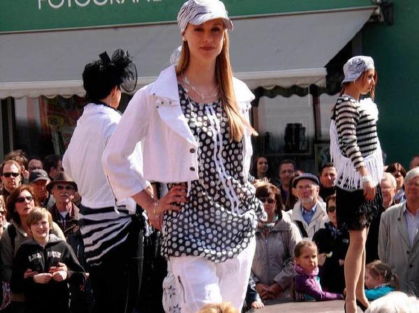Was in dieser Saison angesagt ist, zeigten die Models auf dem Laufsteg bei der Modenschau.
