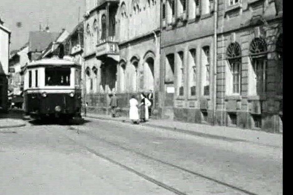 Historische Aufnahmen des Lahrer Bähnli. (Foto: Jörg Reitmeyer)