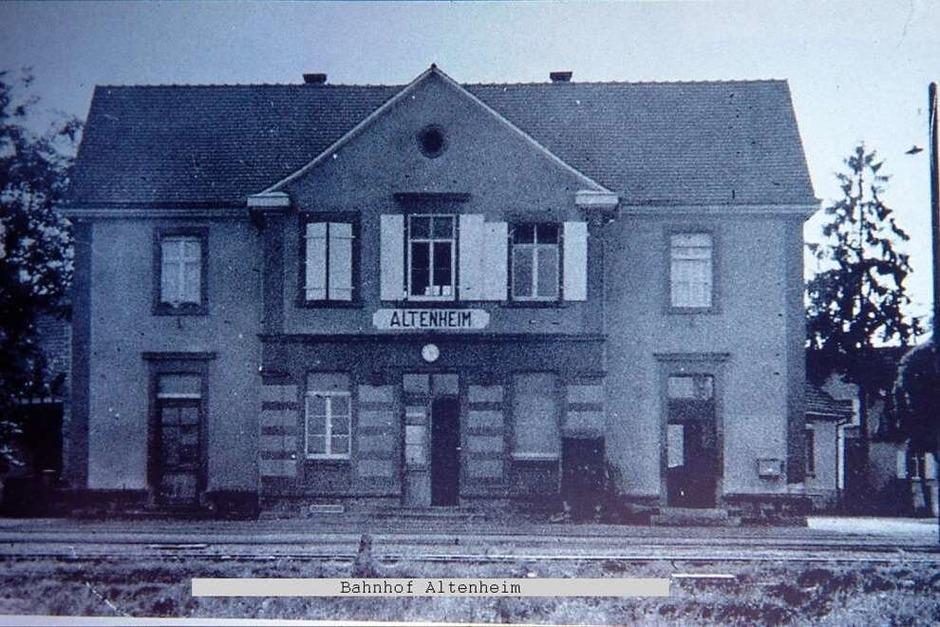 Historische Aufnahmen des Lahrer Bähnli. (Foto: Dieter Fink)
