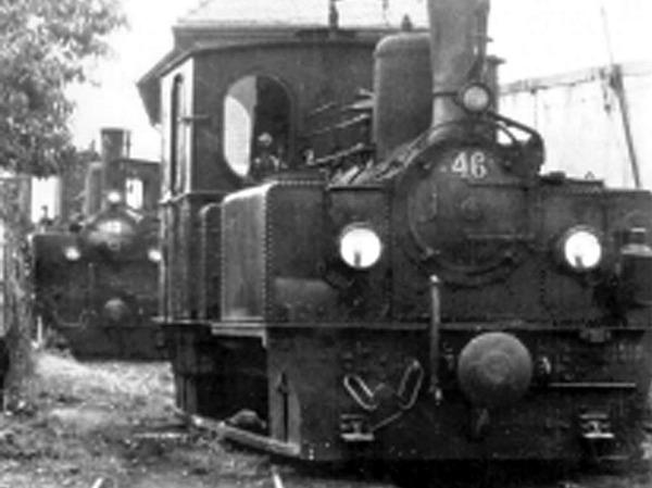 Historische Aufnahmen des Lahrer Bähnli.