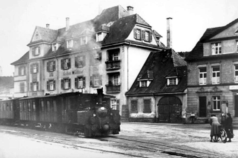 Historische Aufnahmen des Lahrer Bähnli. (Foto: BZ-Archiv/Privat)