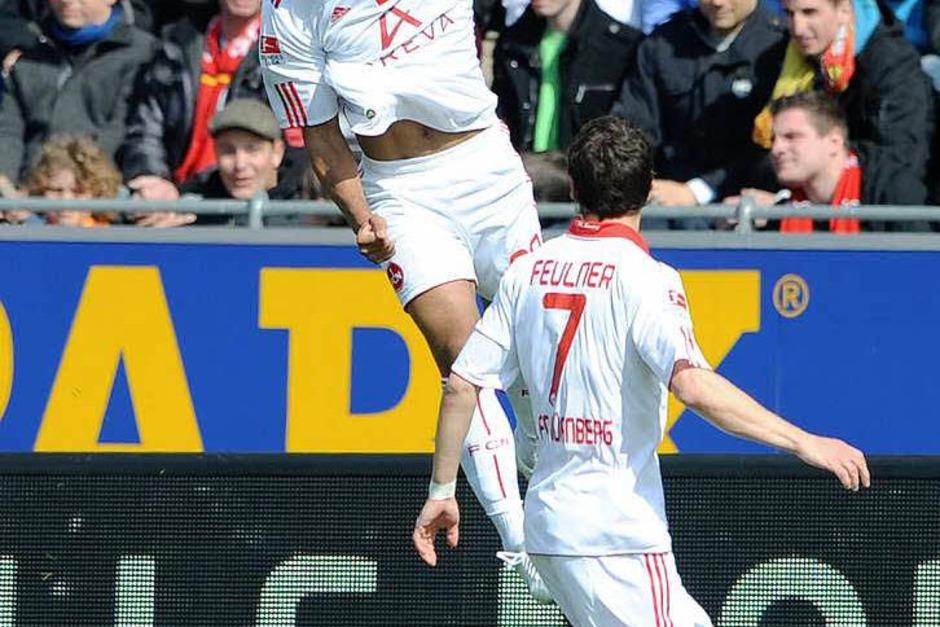 SC Freiburg erkämpft sich ein 2:2 gegen den 1. FC Nürnberg. (Foto: dapd)