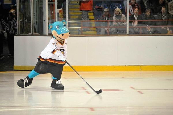 4000 Fans jubeln die deutsche Eishockey-Nationalmannschaft in der Freiburger Franz-Siegel-Halle bei der Euro-Hockey-Challenge zum Sieg gegen Russland.