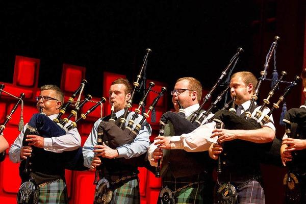 Die Schottische Musikparade im Freiburger Konzerthaus