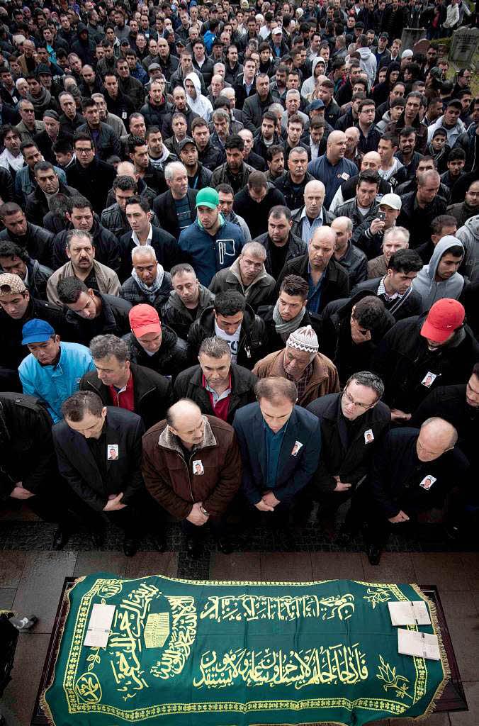 Deutschland Berlin Entsetzen, Trauer, Angst Rechtes