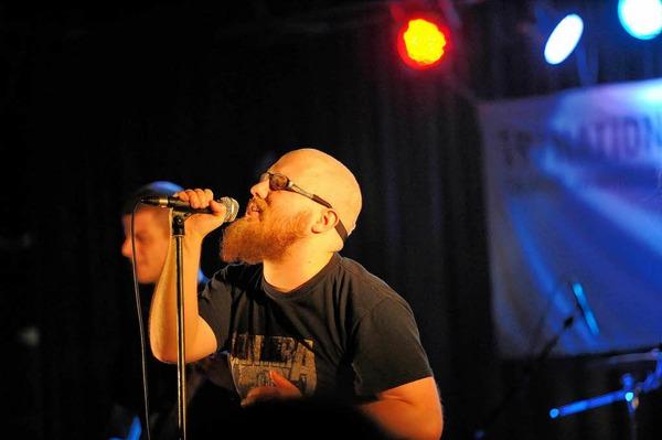 Die deutsche Band Fearce aus Denzlingen ist im Finale.