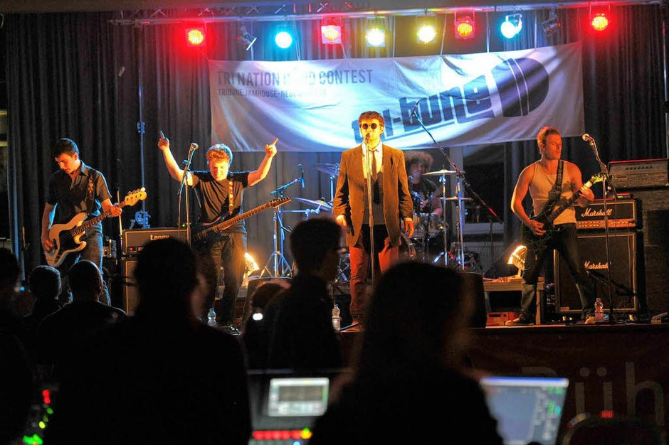 Sehr melodisch:  die Band Lucians aus Frankreich (Foto: Volker M?nch)