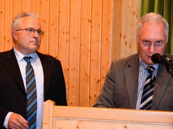 Impressionen von der Wahlparty nach der Bürgermeisterwahl in Herrischried