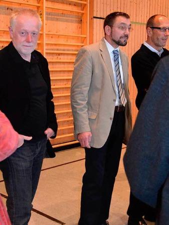 Impressionen von der Wahlparty nach der B�rgermeisterwahl in Herrischried