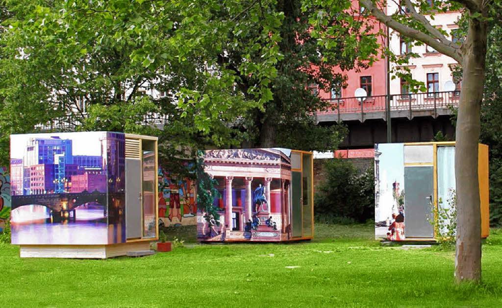 reise verr ckte hotels in berlin schlafen im sarg oder. Black Bedroom Furniture Sets. Home Design Ideas