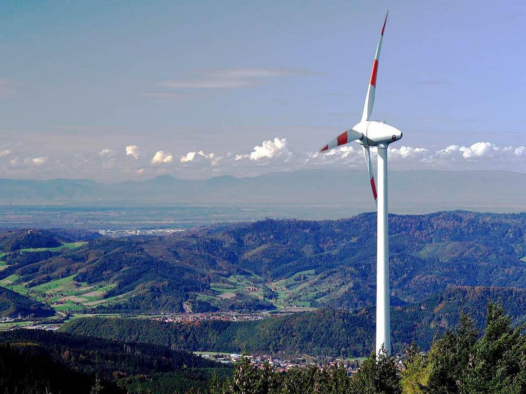Windkraft berg