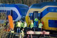Schweres Zugungl�ck in Amsterdam