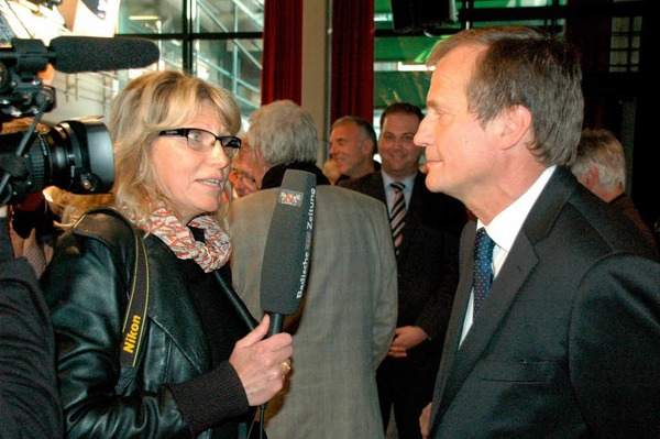 Impressionen vom 22. April, dem OB-Wahltag in Rheinfelden