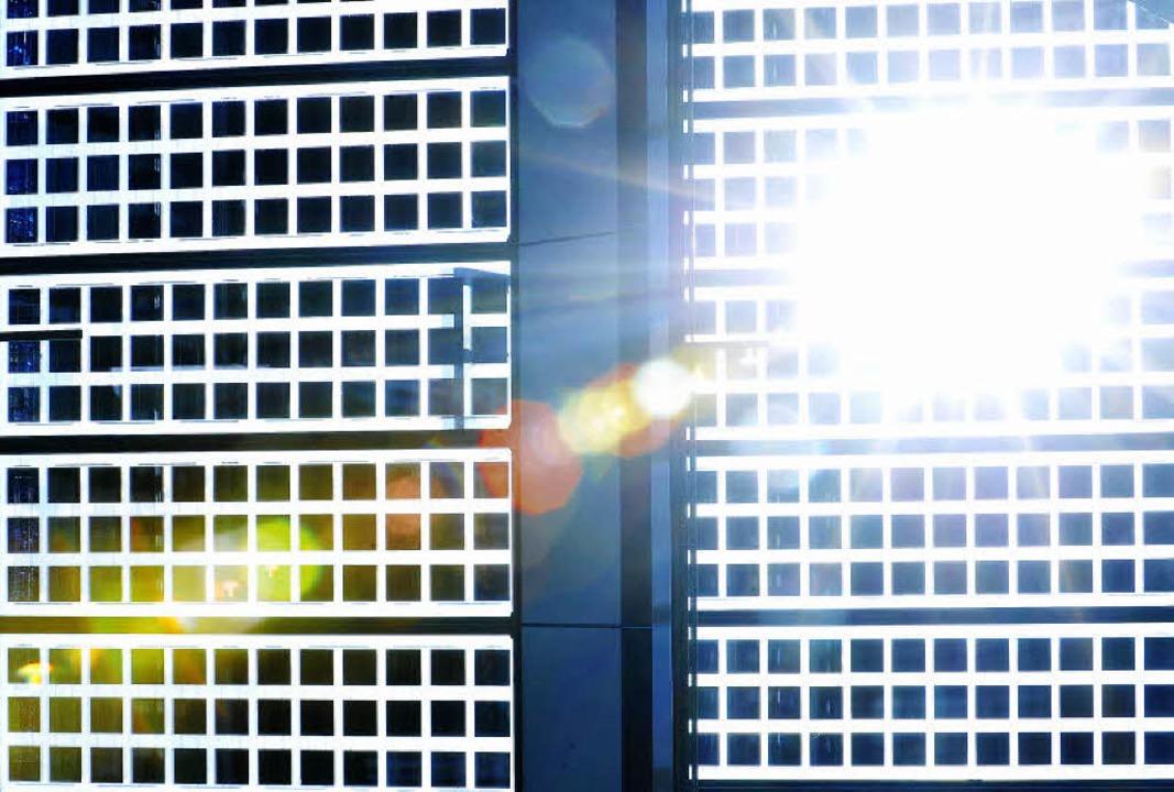 Solarenergie ist heute allgemein etabl...r sind die Energiequellen von morgen?   | Foto: Michael Bamberger