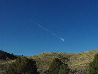 Meteorit zerbricht �ber der Sierra Nevada