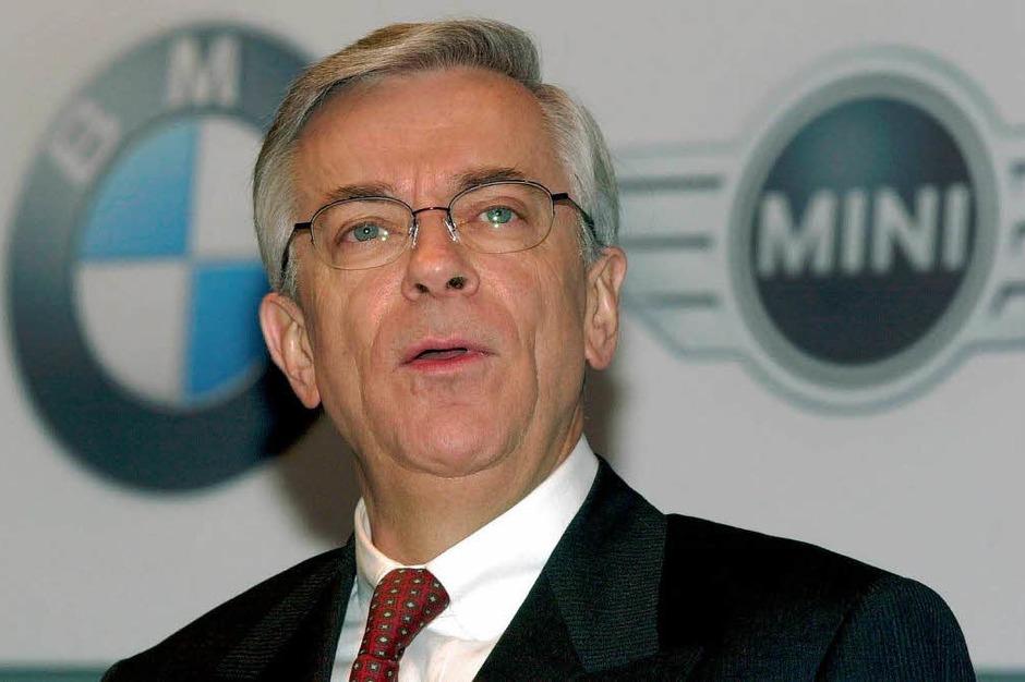 4. Joachim Milberg, BMW, 505.000 Euro (Foto: Frank Leonhardt)