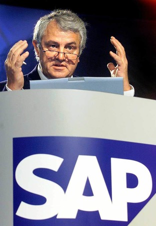 10. Hasso Plattner,  SAP,  350.000 Euro.