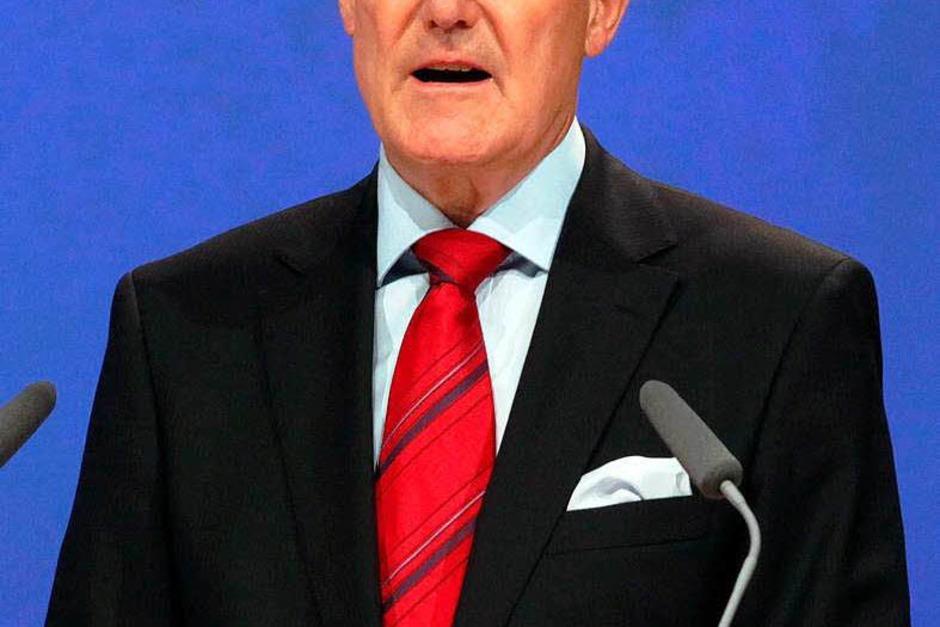 14. Hans-Jürgen Schinzler, Münchner Rück, 262.000 Euro (Foto: Verwendung weltweit, usage worldwide)