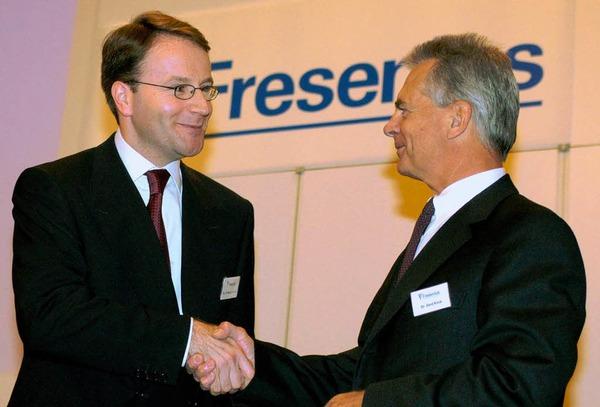 12.  Gerd Krick (rechts), Fresenius, 29.000 , außerdem Fresenius Medical Care, 231.000 Euro, Platz 18