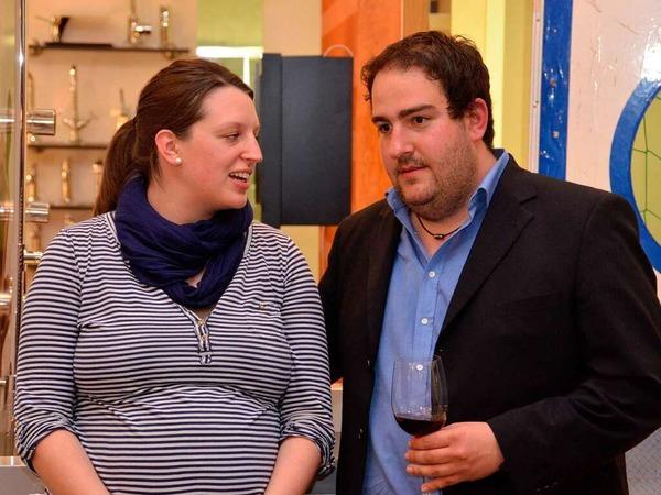 Das Badenova-Energiebuffet  – Michael Weber mit seiner Frau