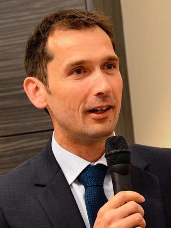 Das Badenova-Energiebuffet  – Badenova-Finanzvorstand Maik Wassmer