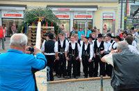 Fotos: Maibaum in Emmendingen – Handwerk zeigt Flagge