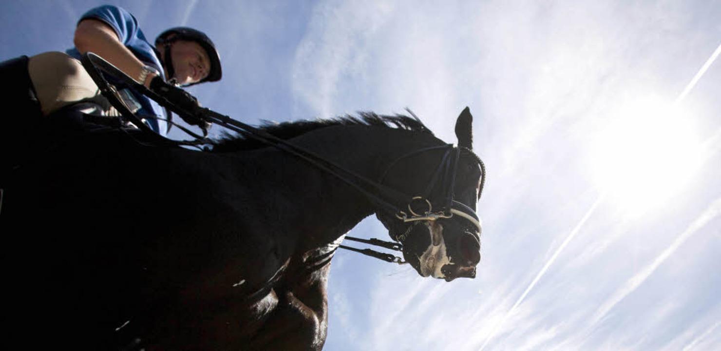 Auf dem Rücken der Pferde, liegt das höchste Glück der Erde.  | Foto: dpa