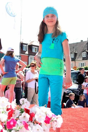Modeschau in Breisach