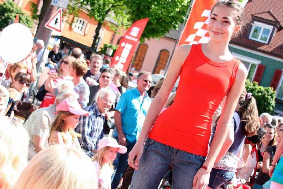 Modeschau in Breisach (Foto: Chrictine Aniol)