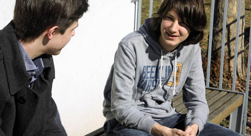 Mit Teenagern darüber reden