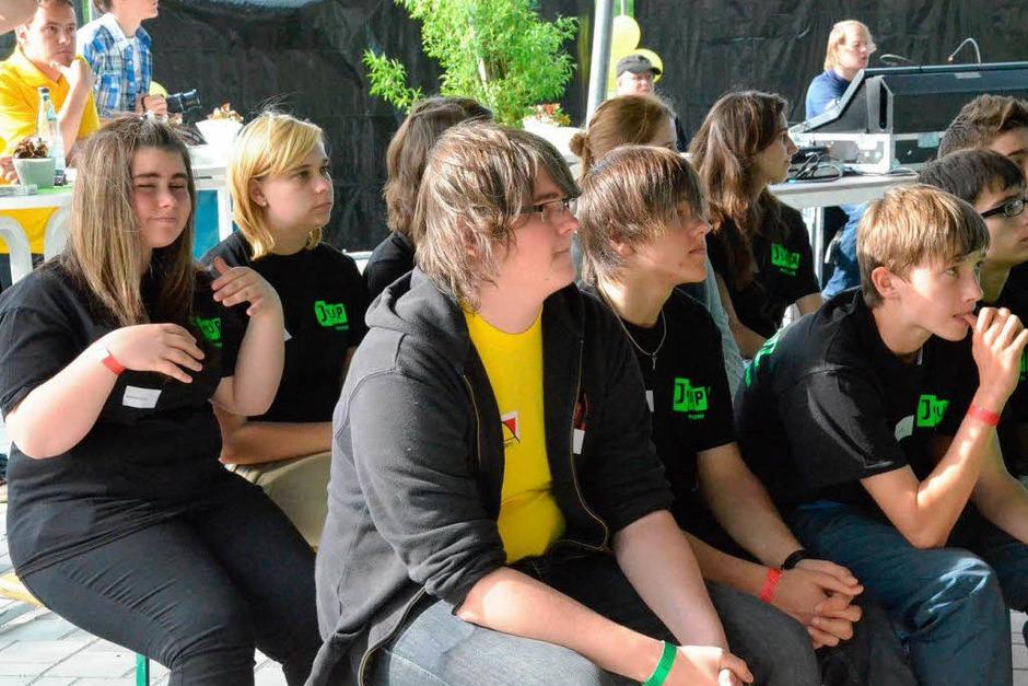 Das Jupa Rheinfelden feiert 60 Jahre Baden-Württemberg an diesem Wochenende mit Jugendlichen aus dem ganzen Land. (Foto: Ingrid Böhm-Jacob)