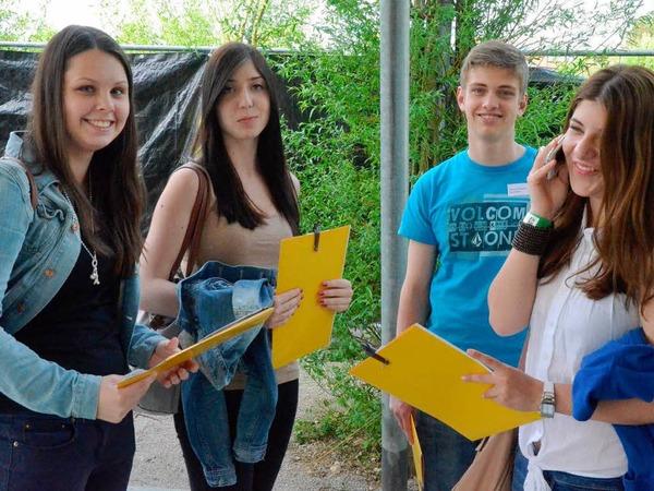 Endlich angekommen: Mitglieder des Jugendgemeinderats Esslingen