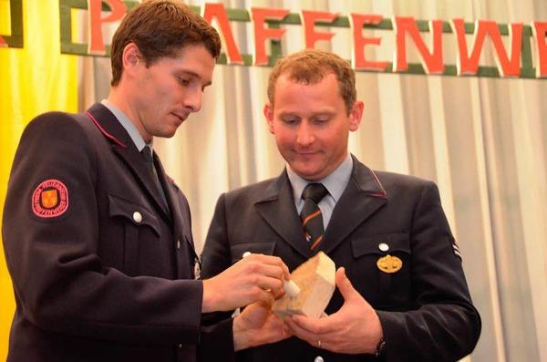 Das freut Kommandant Scherle und seinen Stellvertreter Dominik Scherer.