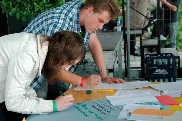 Das Jupa Rheinfelden feiert 60 Jahre Baden-W�rttemberg an diesem Wochenende mit Jugendlichen aus dem ganzen Land.